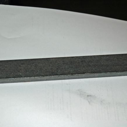 Messerstahl und Klingenstahl rostfrei 1.2379 ( D2)