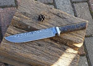 Messer geschmiedet im Schmiedekurs