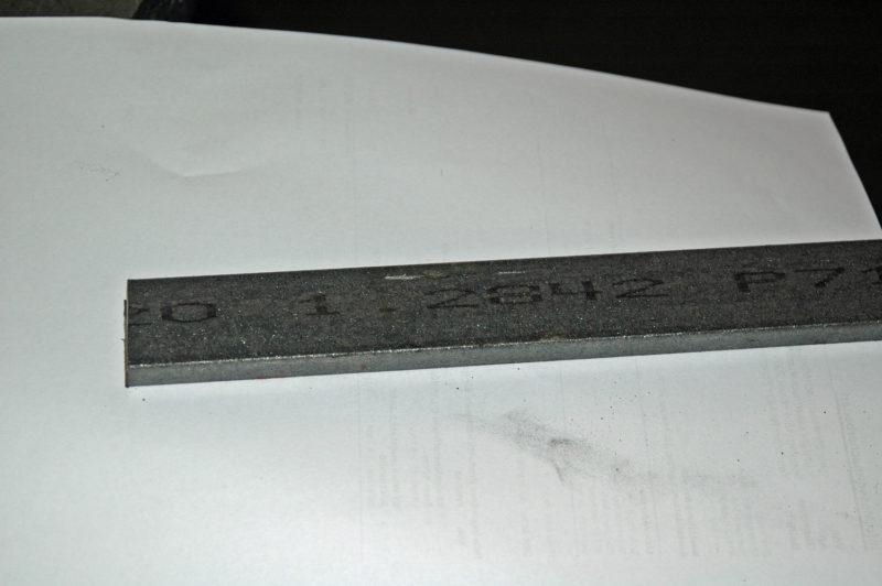 Flachstahl 25x15x300