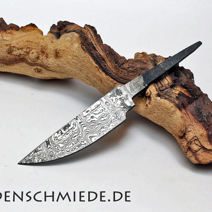 Damasteel Spitzerlklinge 105mm