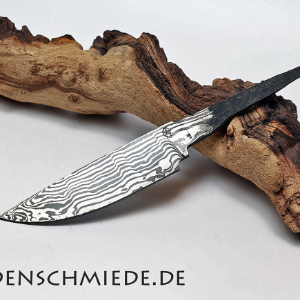 Damasteel Spitzerlklinge 113mm