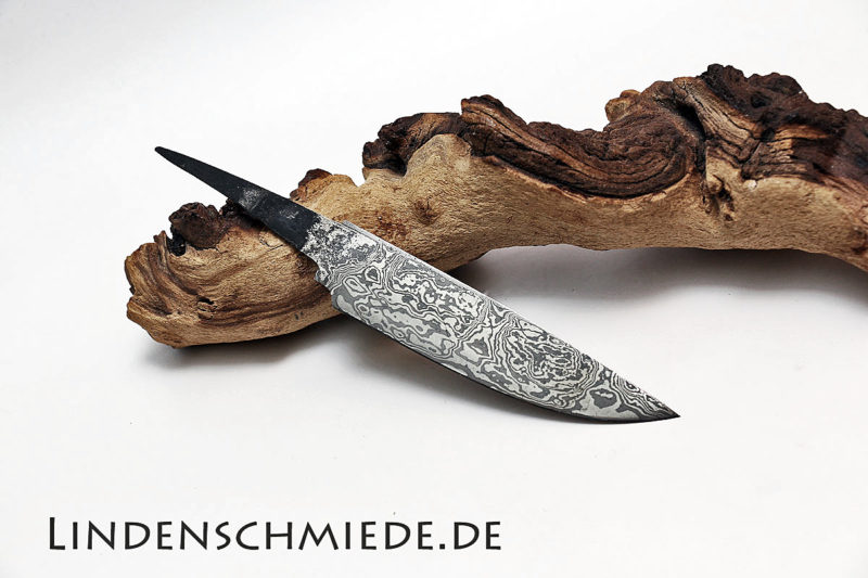 Damasteel Spitzerlklinge 127mm