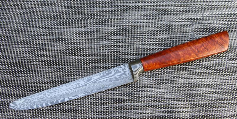 Tafelmesser Damasteel Amboina 16cm