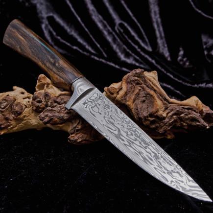 Damasteel Messer aus der Lindenschmiede