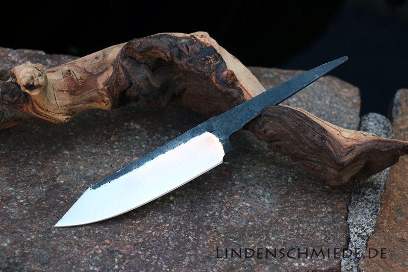 Jagdmesserklinge Werkzeugstahl aus der Lindenschmiede