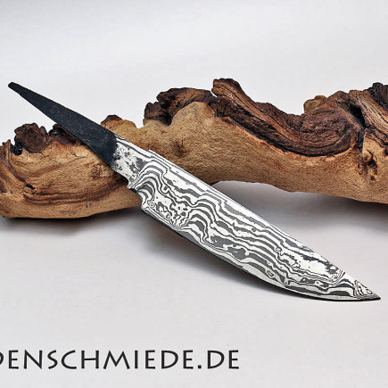 Damasteel Spitzerlklinge 128mm