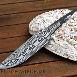 Damasteel Spitzerlklinge 122mm