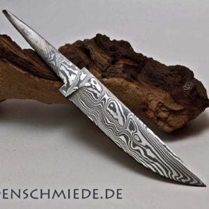 Damasteel Spitzerlklinge 125mm