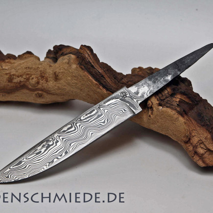 Damasteel Spitzerlklinge 142mm