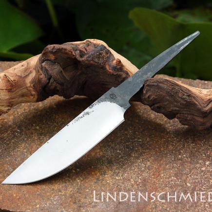 Jagdmesserklinge Kohlenstoffstahl aus der Lindenschmiede