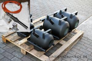 Lindenschmiede Gasesse und Brenner