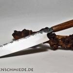 Kochmesser geschmiedet in der Lindenschmiede