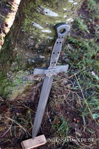 SChwert schmieden im Schmiedekurs