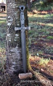 Schwert Schmieden | Schwertklinge aus Damast