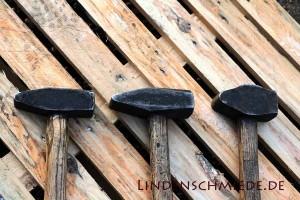 Schlosserhammer und Schmiedehammer