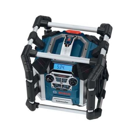 Bosch Professional GML 50 Akku-Baustellenradio mit Ladefunktion