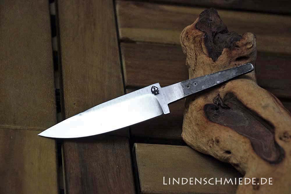 Jagdmesser Klinge aus Wälzlagerstahl 1.3505, 8,5 cm Klinge 2