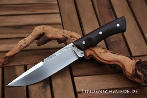 Jagdmesser aus Werkzeugstahl geschmiedet