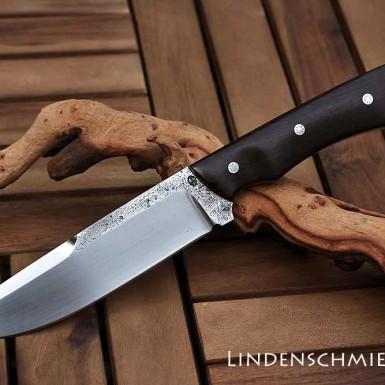 Jagdmesser aus Wälzlagerstahl (1.3505)